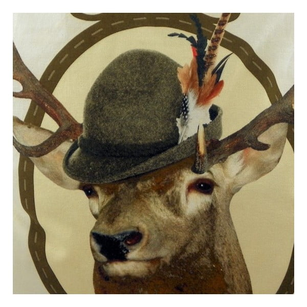 Vankúš Alm Red Deer 50x50 cm