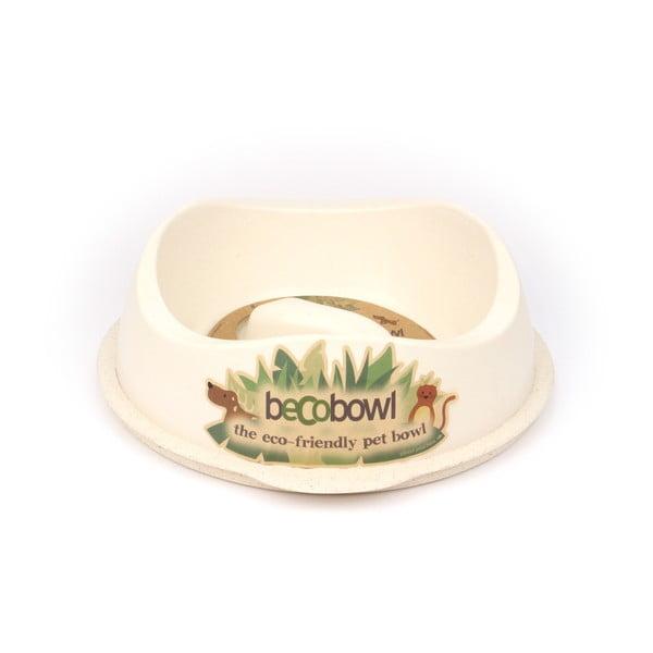 Miska pre psíkov/mačky Beco Bowl 28,5 cm, prírodná
