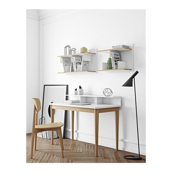 Biely pracovný stôl TemaHome Xira