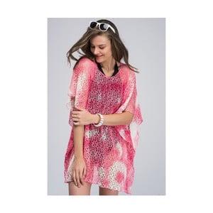 Ružová dámska letná tunika z čistej bavlny NW Elisia