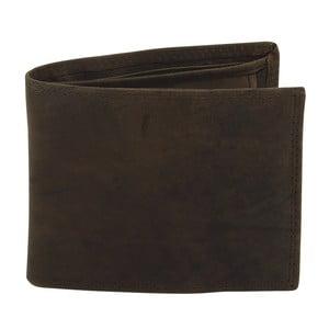 Tmavohnedá kožená peňaženka Friedrich Lederwaren Hunter
