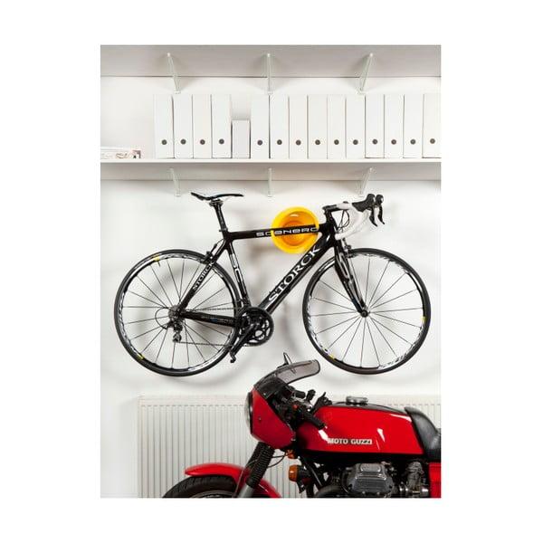 Dizajnový držiak na bicykel Solo, čierny
