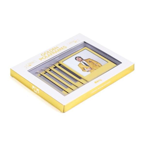 Magnetické rámiky DOIY Polaroid, zlaté
