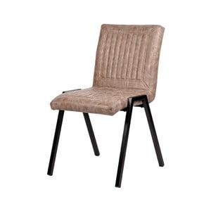 Béžová jedálenská stolička LABEL51 Boris
