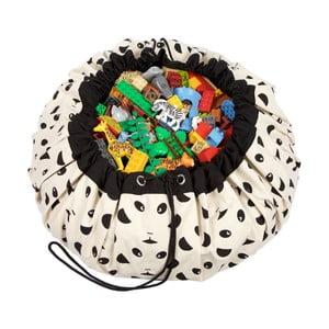 Podložka na hranie a vrece na hračky v jednom Play & Go Panda