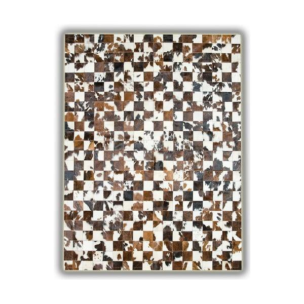 Koberec z pravej kože Alfombra, 150x210 cm
