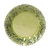Zelený keramický tanier Costa Nova Madeira, ⌀ 27 cm