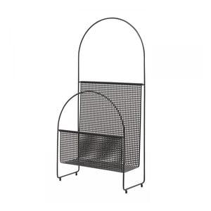 Čierny stojan na noviny OK Design Nouvelle
