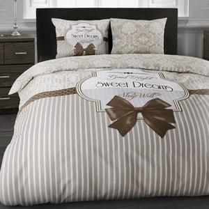 Obliečky Sweet dream Taupe, 140x200 cm