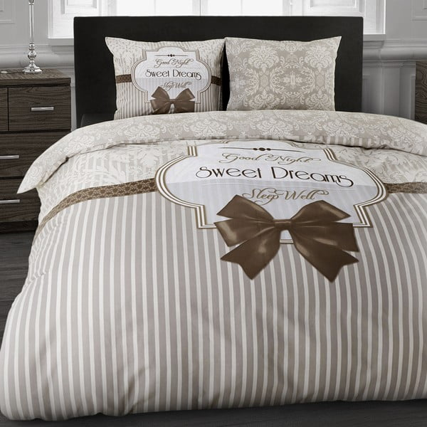 Obliečky Sweet dream Taupe, 200x200 cm