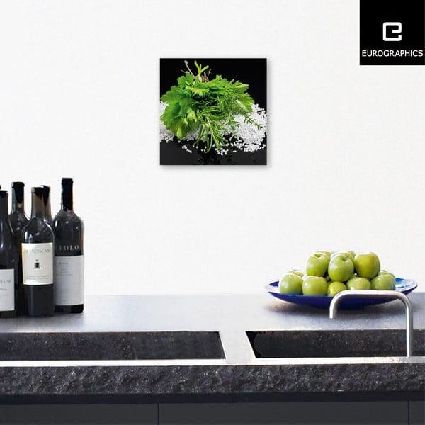 Sklenený obraz Mediterranean Delight , 20x20 cm