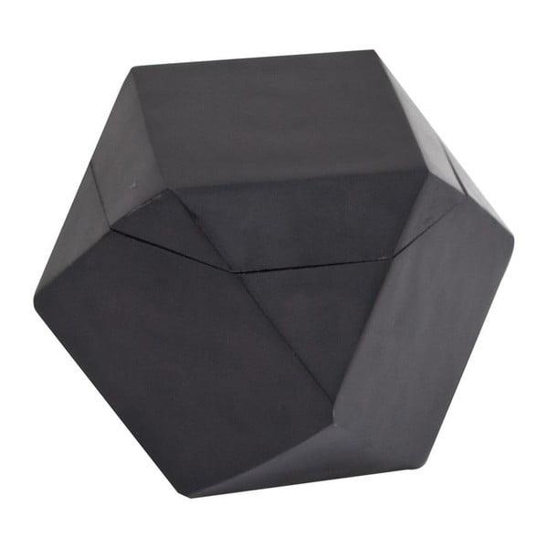 Krabička Away Black, 15x15x15 cm