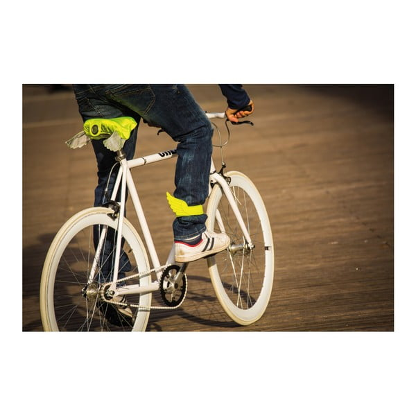 Poťah na cyklistické sedadlo Donkey Flying Lemon