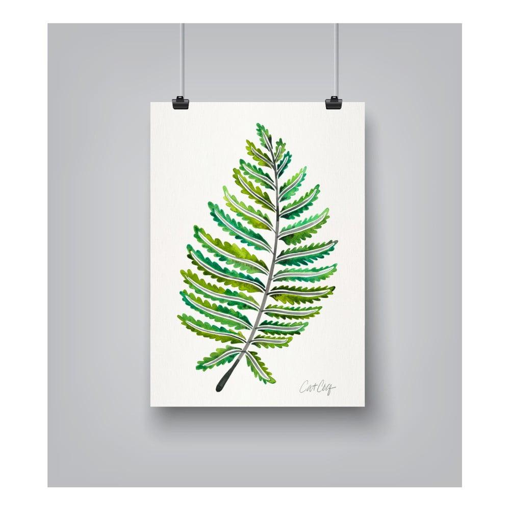 Plagát Americanflat Fern Leaf, 30 x 42 cm