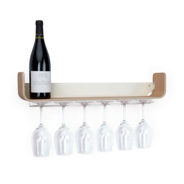 Polica na víno Universal, 60x10 cm