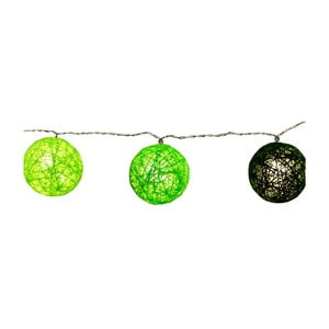 Zelená svetelná LED reťaz Best Season Jolly Lights, 10svetielok
