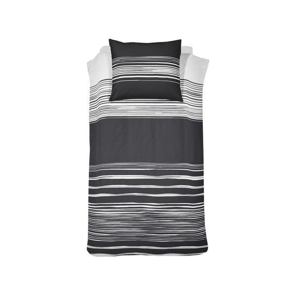 Obliečky Seito Black, 140x200 cm