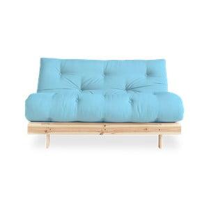 Variabilná pohovka Karup Design Roots Raw/Light Blue