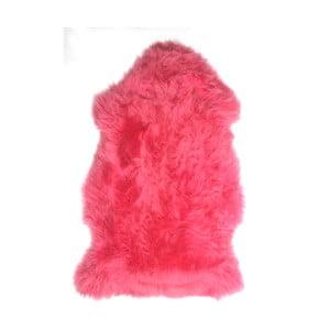 Ovčia kožušina Premium Pink, 90 cm