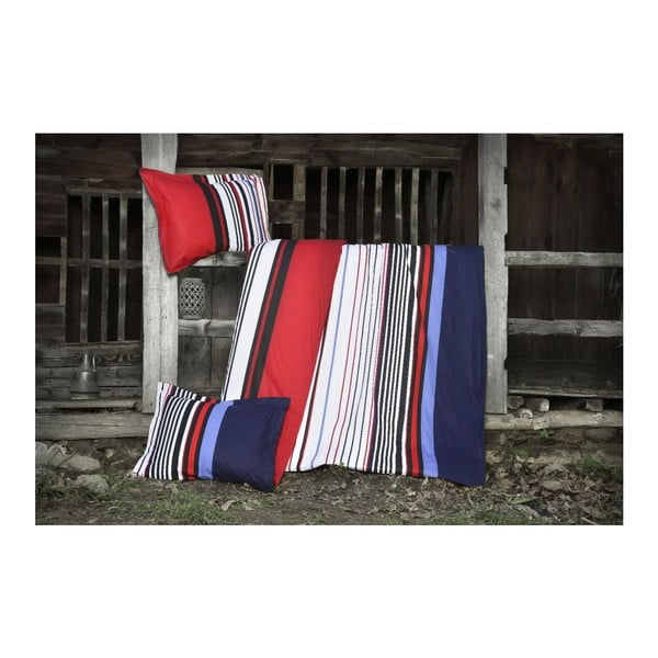 Obliečky Arya Red&Blue, 200x220 cm