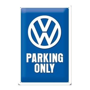 Plechová ceduľa Parking Only, 20x30 cm