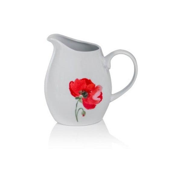 Porcelánová kanvička namlieko Sabichi Poppy