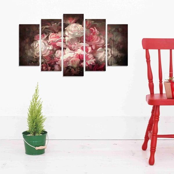 5-dielny obraz Roses