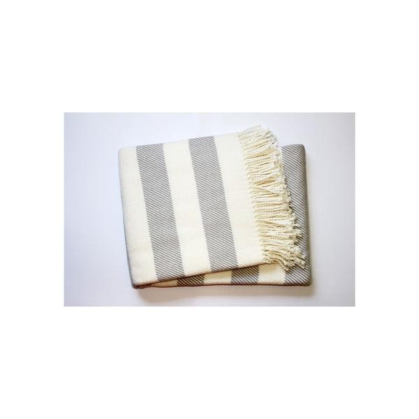Deka Candy Light Grey, 140x180 cm