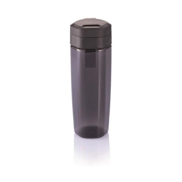 Čierna cestovná fľaša XD Design Turner Activity, 650 ml