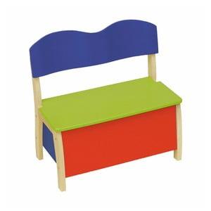 Detská lavica s úložným priestorom Roba Kids