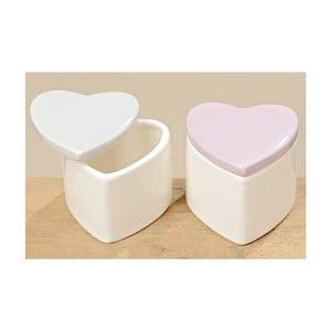 Sada 2 boxov Heart