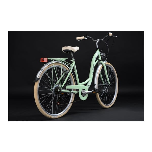 """Bicykel City Bike Casino Green 28"""", výška rámu 48 cm, 6 prevodov"""