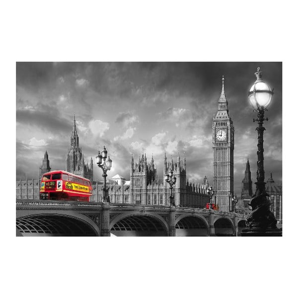 Maxi plagát Bus On Westminster, 175x115 cm
