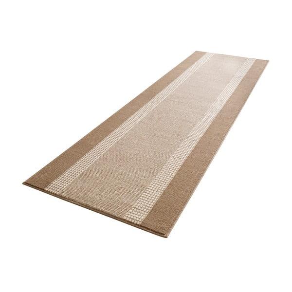 Koberec Basic, 80x250 cm, béžový