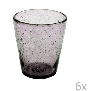Sada 6 fialových pohárov Villa d'Este Aqua, 330ml