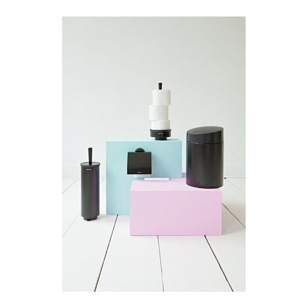 Odpadkový kôš Slide Bin, 5 l, čierny