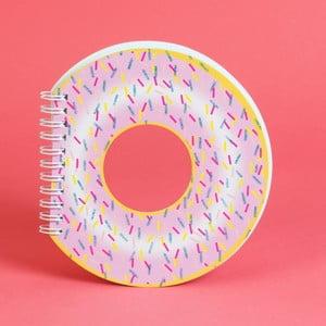 Zápisník v tvare donutu Just 4 Kids Donut, 100 stránok