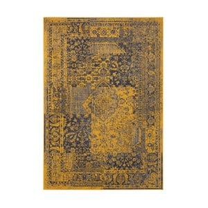 Žlto-sivý koberec Hanse Home Celebration Garitto, 80 x 150 cm