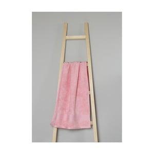 Svetloružový bavlnený uterák My Home Plus Spa, 50×90 cm