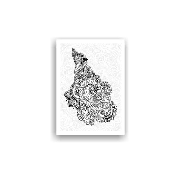Obraz na vymaľovanie Color It no. 50, 70x50 cm