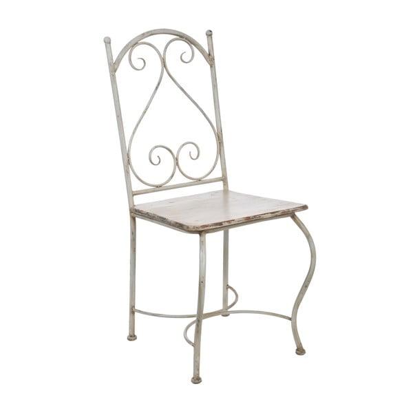 Kovová stolička Old Cream