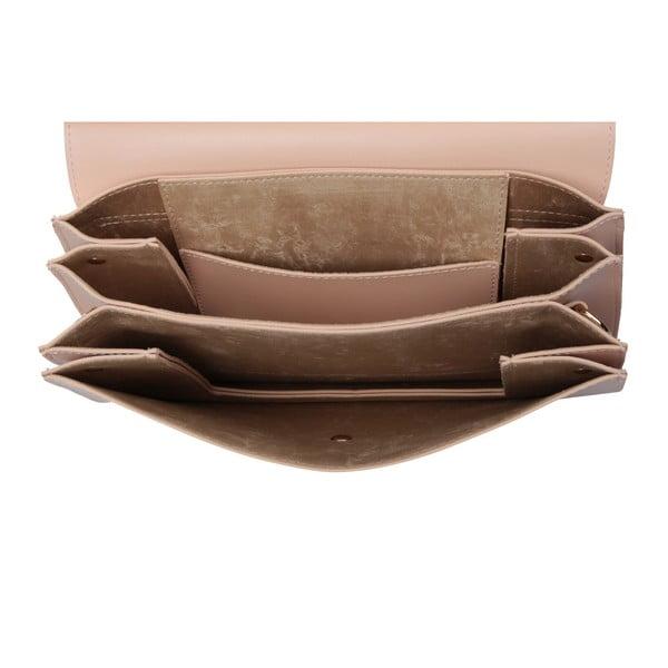 Púdrovoružová kabelka z eko kože Beverly Hills Polo Club Sylvia