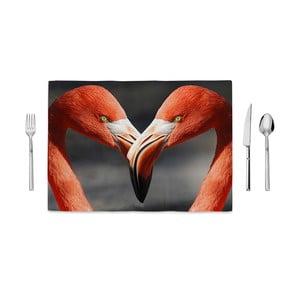 Prestieranie Home de Bleu Flamingos Love, 35 x 49 cm