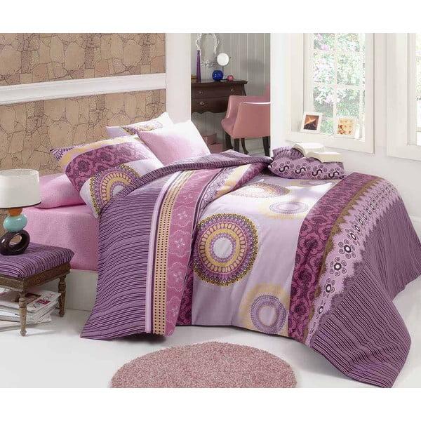 Obliečky s plachtou Gala Pink, 160x220 cm