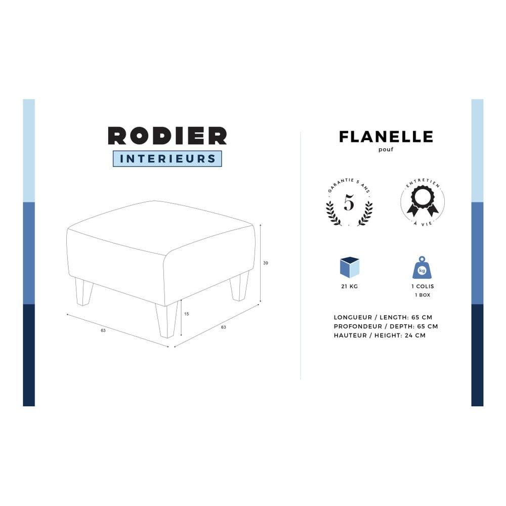 Tmavoru ov podno ka rodier flanelle bonami for Rodier interieur