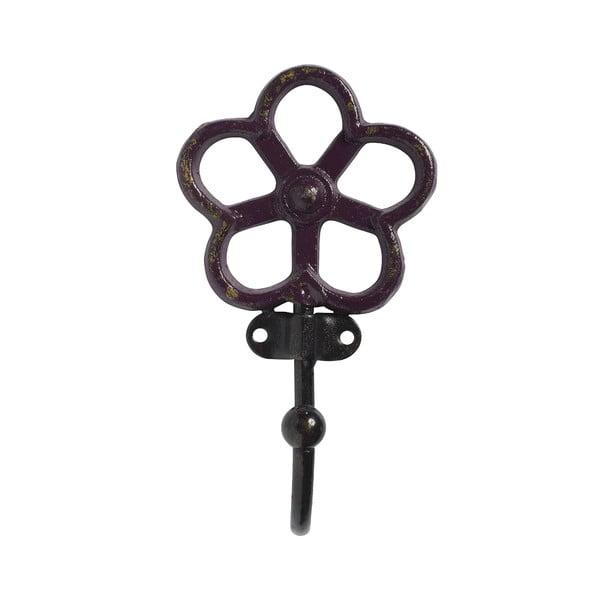 Háčik Flower, bordó