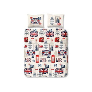 Obliečky London Multi, 140x200 cm