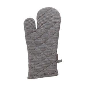 Sivá bavlnená kuchynská rukavica Ego Dekor, 18×33cm
