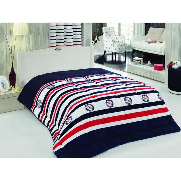 Sada prikrývky cez posteľ a plachty Harrisburg, 195x215 cm