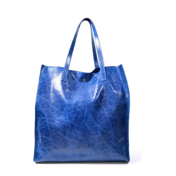 Kožená kabelka Diana, modrá